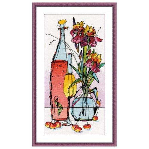 Купить Овен Цветной Вышивка крестом Стеклянная фантазия-1 21 х 40 см (995), Наборы для вышивания