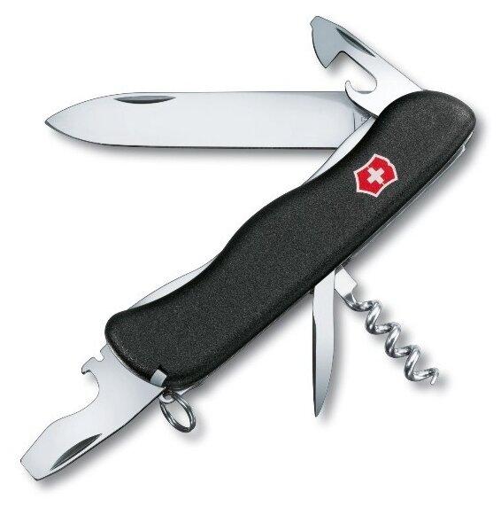 Складной швейцарский нож Victorinox Nomad One Hand 111 мм, 11 функций, 0.8353.3R2