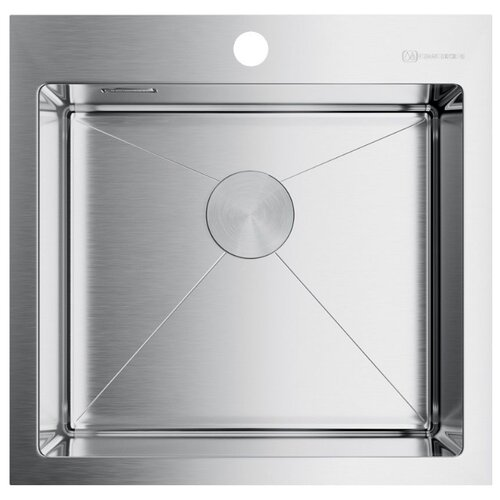 Врезная кухонная мойка 51 см OMOIKIRI Akisame 51-IN нержавеющая сталь врезная кухонная мойка 86 см omoikiri akisame 86 in l нержавеющая сталь
