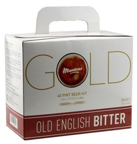 Солодовый экстракт Muntons GOLD - Old English Bitter 3 кг