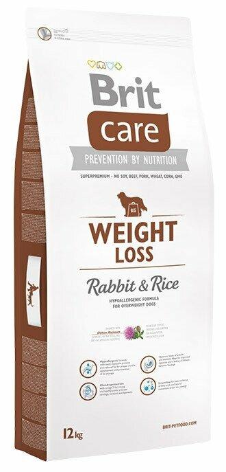 Корм для собак Brit Care кролик с рисом