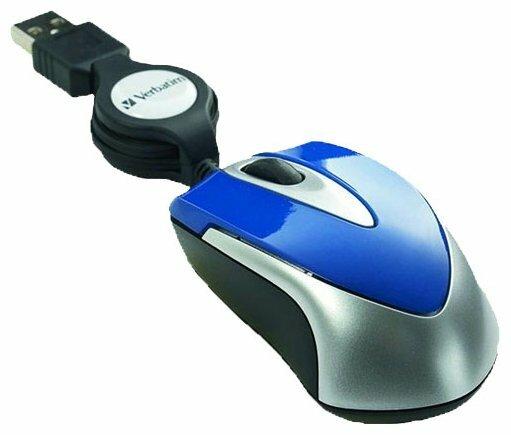Мышь Verbatim Optical Travel Mouse Blue USB