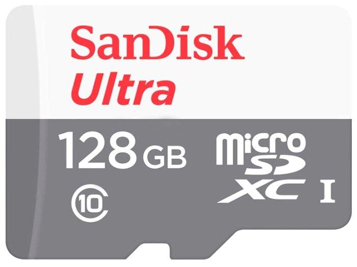 Карта памяти SanDisk Ultra microSDXC Class 10 UHS-I 80MB/s
