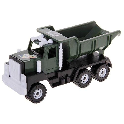 Грузовик Orion Toys самосвал Камакс-Н (115А) 22 см зеленый каталка толокар orion toys мотоцикл 2 х колесный 501 зеленый