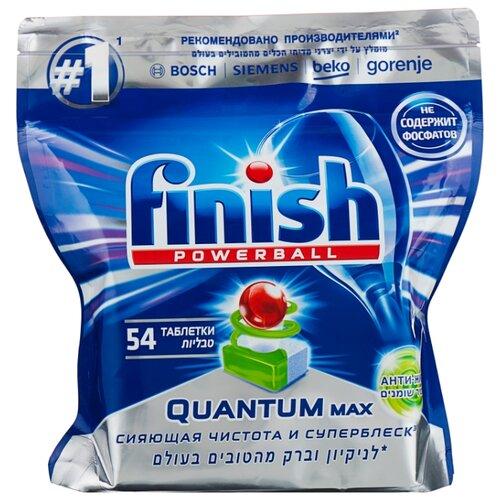 Finish Quantum таблетки анти-жир (original) для посудомоечной машины 54 шт.Для посудомоечных машин<br>