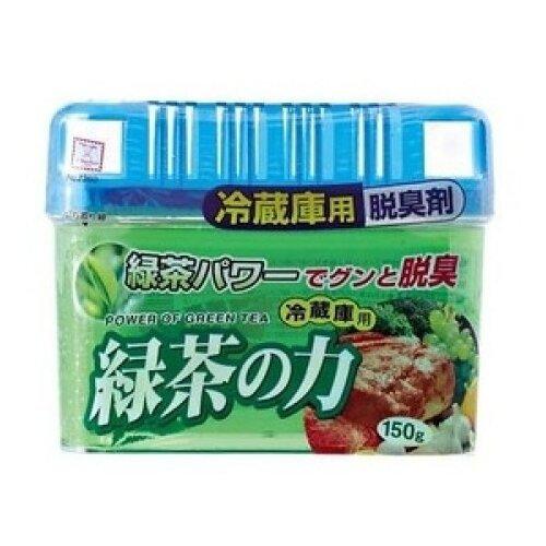 Kokubo поглотитель запахов для общего отделения холодильника Зеленый чай, 150 грОсвежители воздуха<br>