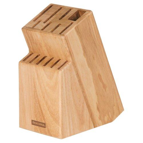 Tescoma Подставка для 13 ножей и ножниц Woody коричневый