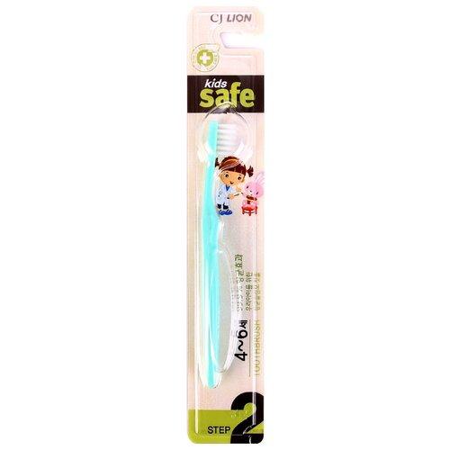 Фото - Зубная щетка CJ Lion Kids Safe №2 4-6 лет зубная щетка melo iko kids апельсин 0 14 лет оранжевый