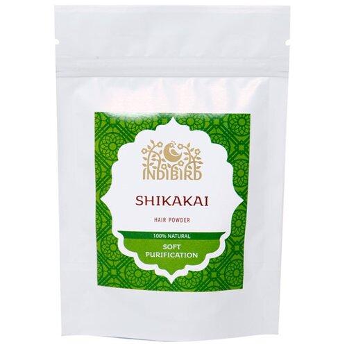 Indibird Порошок-маска для волос Шикакай, 50 г хна для волос натуральная черная indibird 50 г