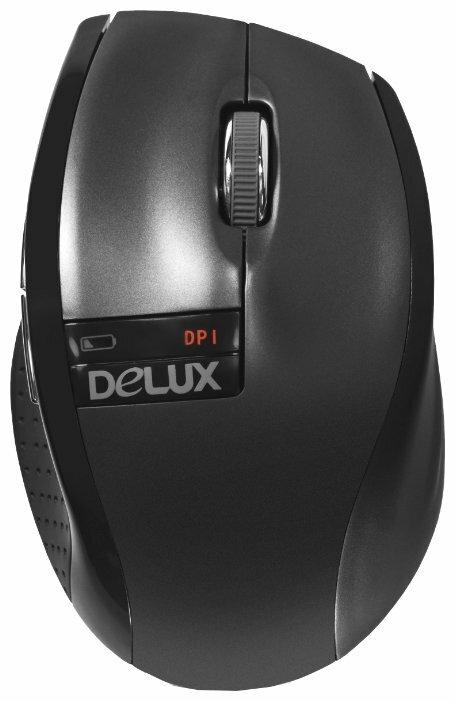Мышь Delux DLM-526G Black USB