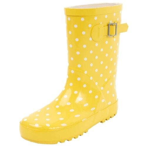 Резиновые сапоги playToday размер 28, желтыйРезиновые сапоги<br>