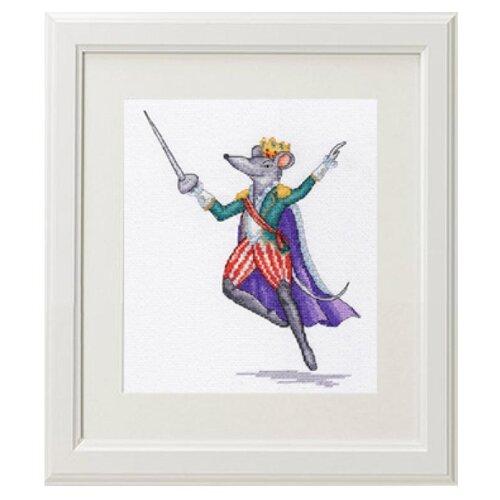 Купить BiBiART Набор для вышивания крестом Мышиный Король 19 Х 24 см (1003), Наборы для вышивания