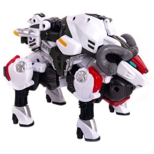 Купить Трансформер YOUNG TOYS Metalions Aries белый, Роботы и трансформеры
