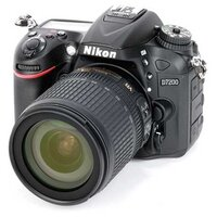 Фотоаппарат Nikon D7200 Kit (черный)