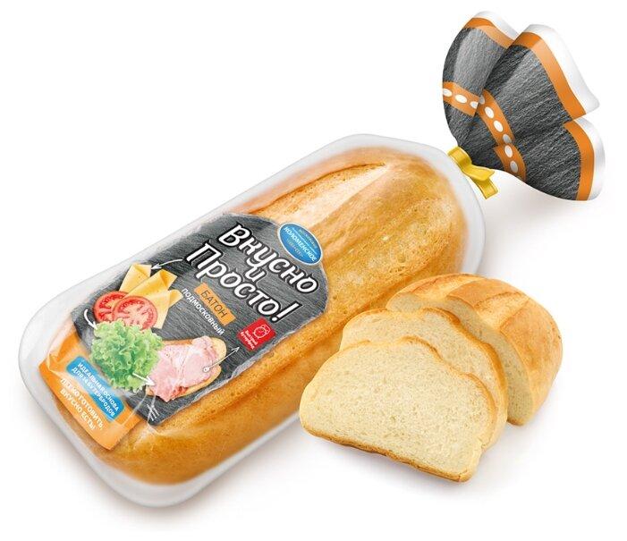 Коломенское Батон Подмосковный в нарезке пшеничный