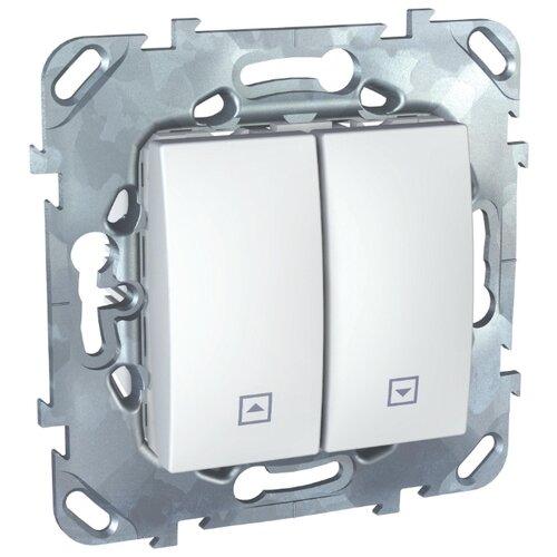 Жалюзийный переключатель Schneider ElectricMGU5.207.18ZD UNICA, 10 А, белый