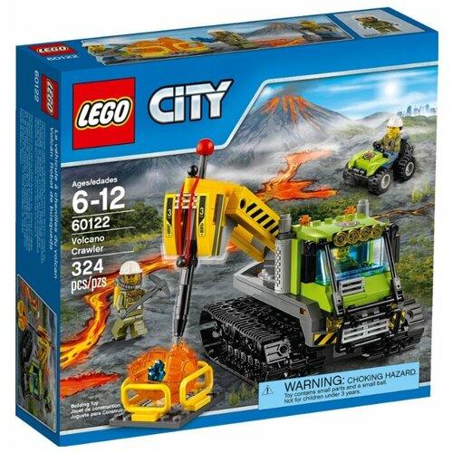 Конструктор LEGO City 60122 Гусеничный трактор исследователей вулканов, Конструкторы  - купить со скидкой