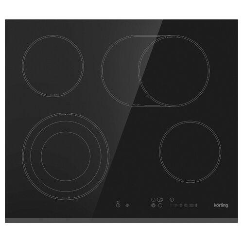Электрическая варочная панель Korting HK 63552 B варочная панель электрическая korting hk 60001 b черный