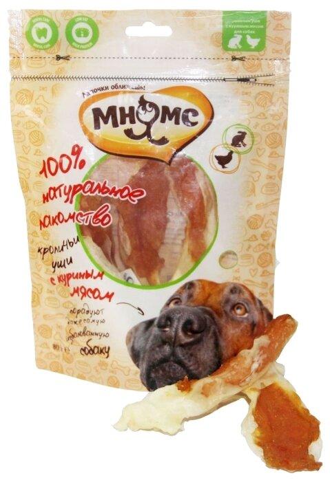 Лакомство для собак Мнямс Кроличьи уши с куриным мясом