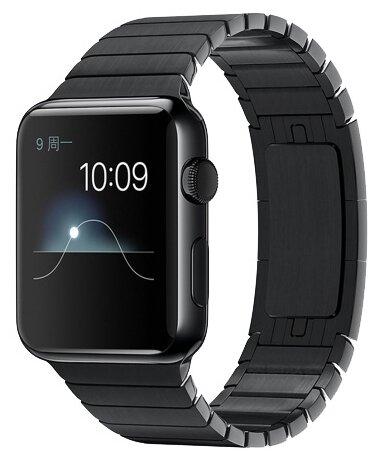 Ремешок для Apple watch 42mm Link bracelet серебро