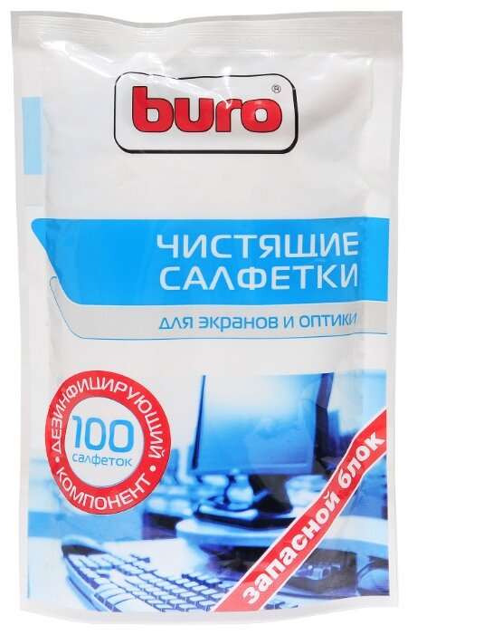 Buro BU Zscreen влажные салфетки 100