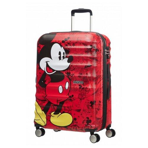 Чемодан American Tourister Wavebreaker 96 л, Mickey Comics Red
