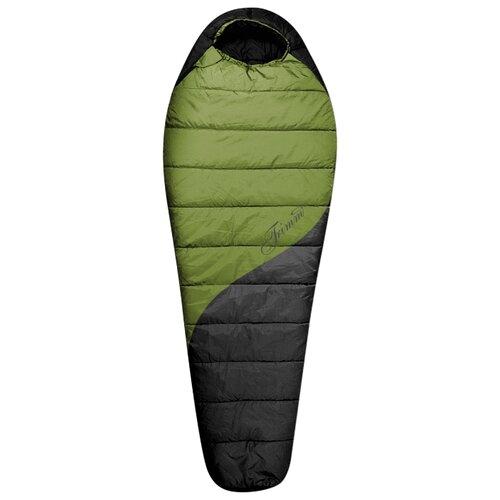 Спальный мешок TRIMM Balance 195 kiwi green/dark grey с правой стороны