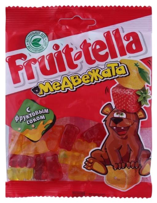 Мармелад Fruit-tella Медвежата ассорти 70 г
