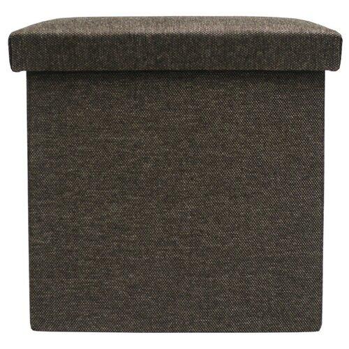 Пуфик с ящиком для хранения Тематика складной рогожка серый пуфик с ящиком для хранения тематика складной рогожка коричневый