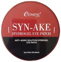 Esthetic House Гидрогелевые патчи для кожи вокруг глаз со змеиным ядом Syn-Ake Hydrogel Eye Patch