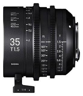 Sigma Объектив Sigma 35mm T1.5 FF Canon EF