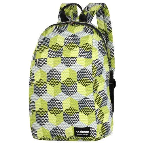 Рюкзак Nosimoe 012-02D кубы желтый