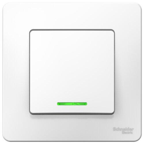 Выключатель 1-полюсный Schneider Electric Blanca BLNVS010111,10А, белый фото
