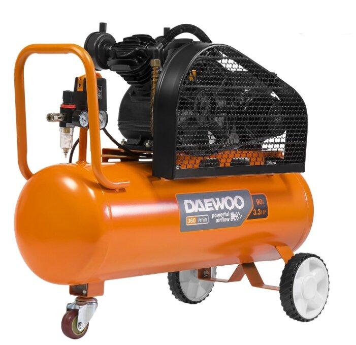 Компрессор масляный Daewoo Power Products DAC 90B, 90 л, 2.4 кВт