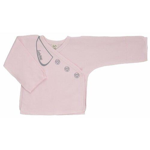 Распашонка lucky child размер 20 (62-68), розовый распашонка для девочки lucky child цветочки цвет светло розовый 11 7 размер 62 68 2 3 месяца