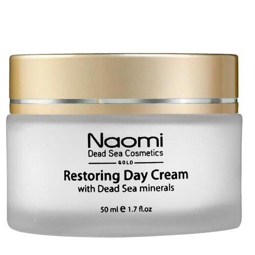 Naomi Restoring Day Cream Восстанавливающий дневной крем для лица с минералами Мертвого моря, 50 мл недорого