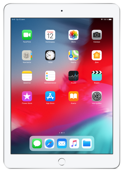 Apple Планшет Apple iPad (2018) 128Gb Wi-Fi