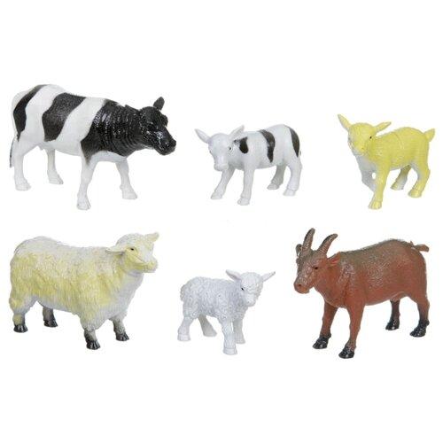 Фигурки BONDIBON Ребятам о зверятах - Домашние животные с детенышами ВВ1606, Игровые наборы и фигурки  - купить со скидкой