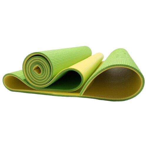 Коврик (ДхШхТ) 190х61х0.6 см Original FitTools FT-YGM06S-BANANALIME желтый/зеленый однотонный фото