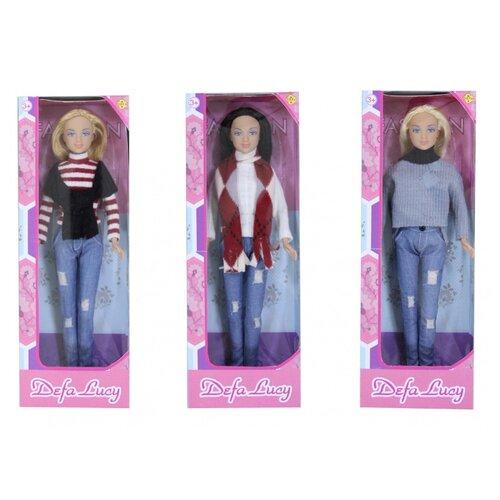 Купить Кукла Defa Lucy в повседневной одежде 29 см 8366, Куклы и пупсы