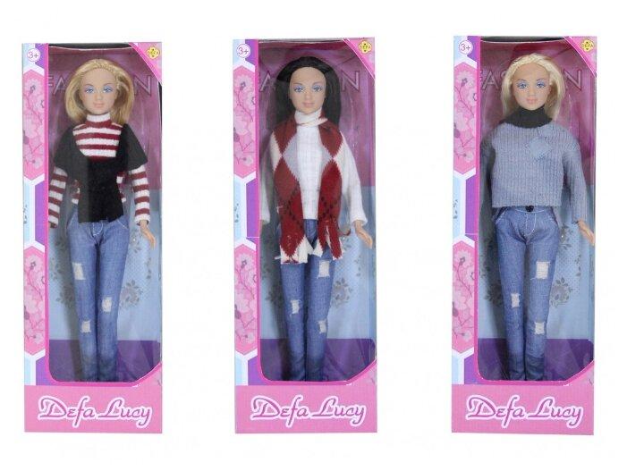 Кукла Defa Lucy в повседневной одежде 29 см 8366