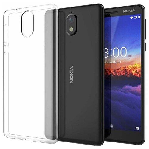 Чехол Gosso 184505 для Nokia 3.1 2018 прозрачныйЧехлы<br>