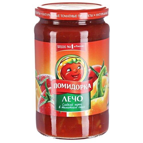 Лечо Сладкий перец Помидорка стеклянная банка 480 млОвощи консервированные<br>