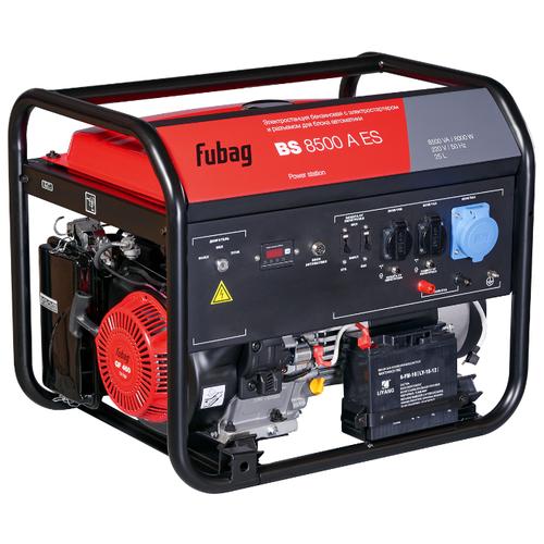 Бензиновый генератор Fubag BS 8500 A ES (8000 Вт) бензиновый генератор fubag bs 6600 a es 6000 вт