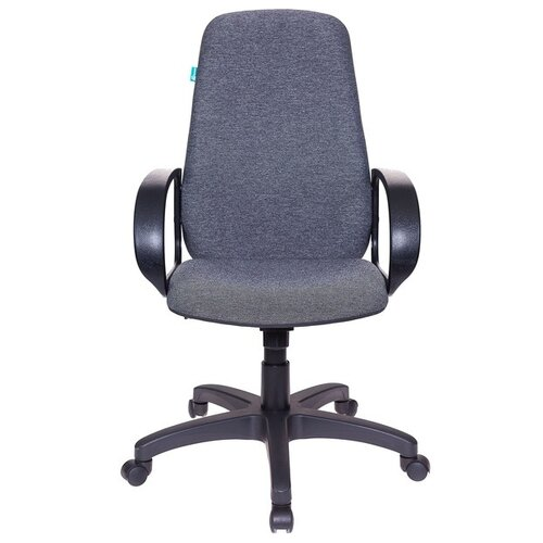 Компьютерное кресло Бюрократ CH-808AXSN, обивка: текстиль, цвет: темно-серый 3C1 кресло руководителя бюрократ ch 808axsn на колесиках ткань темно серый [ch 808axsn g]