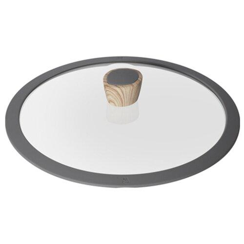 Фото - Крышка Nadoba Mineralica (751213), 24 см прозрачный/серый крышка с силиконовым ободком d 24 см nadoba mineralica 751213