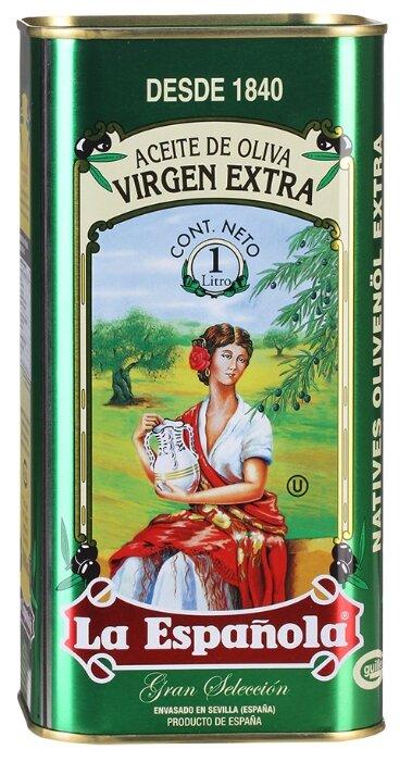 La Espanola Масло оливковое Extra Virgin, жестяная банка