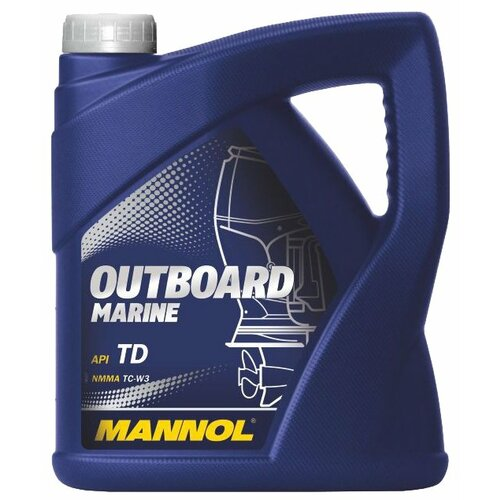 Моторное масло Mannol Outboard Marine 4 л
