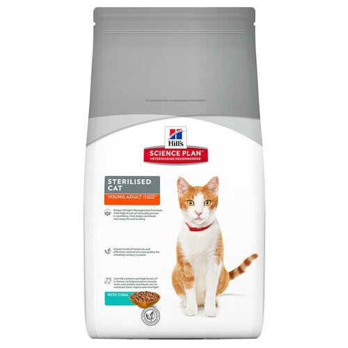 Корм для кошек Hills Science Plan Feline Sterilised Cat Young Adult with Tuna (8 кг)Корма для кошек<br>