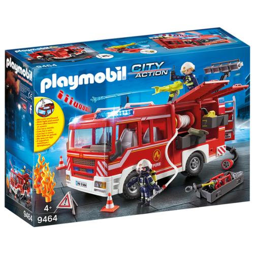 цена на Набор с элементами конструктора Playmobil City Action 9464 Пожарная служба: пожарная машина
